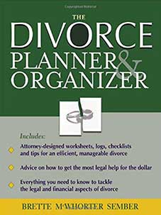 Cover of the book The Divorce Organizer & Planner by Brette Sember